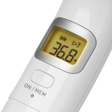 Omron oorthermometer die kindvriendelijk is met 25 geheugens