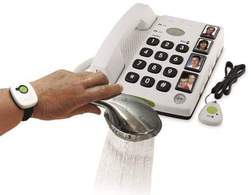 Doro telefoon met fototoetsen type 347 secureplus alarm