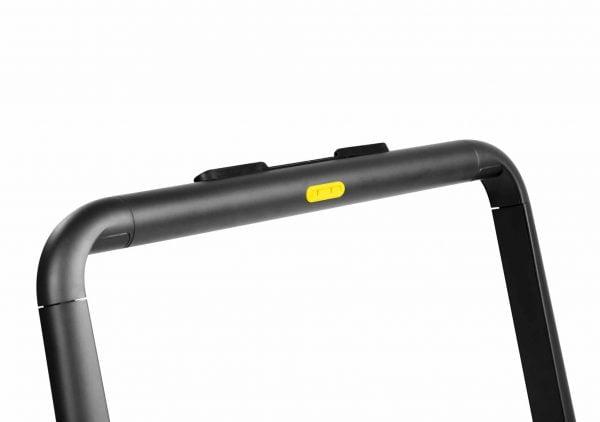 Flow Fitness nieuwste Loopband DTM200i met 2 loopmogelijkheden stang