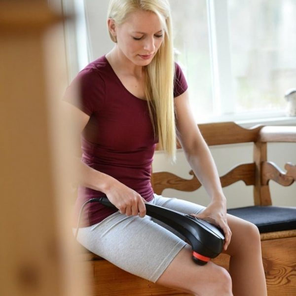 Sissel intensive massager voorbeeld op been