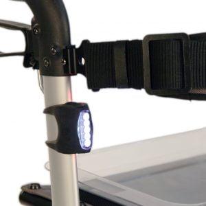 Track rollator led lampje