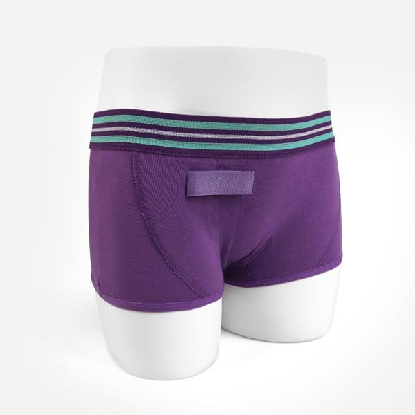 Meisjes ondergoed hipster kleur paars