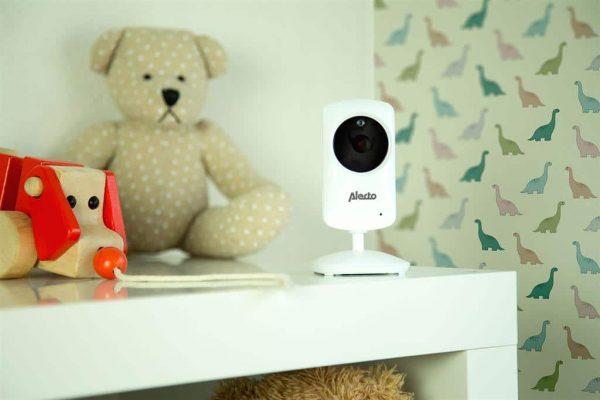 Alecto DVM 64 babyfoon met camera met standaard