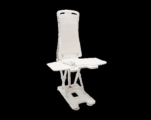 Badlift Bellavita 2G, lichtgewicht en ijzersterk in kleur wit met comfort bekleding
