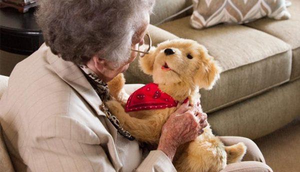 WINTERACTIE Interactieve puppy - hond ontwikkeld voor ouderen.