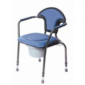toiletstoel able2 verstelbaar in kleur blauw