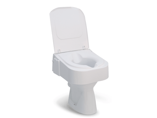 Toiletverhoger Tinus, merk Drive TCE 150met deksel, zonder armleuningen