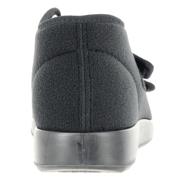 Verbandschoen laagmodel Varomed Genua winter kleur zwart