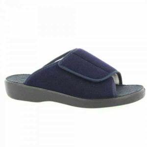 Verbandschoen merk Varomed model Ibiza in kleur blauw en zwart