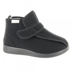 Verbandschoen hoogmodel merk Varomed Model Meran XXL maat 36-48, 50 in de kleur zwart