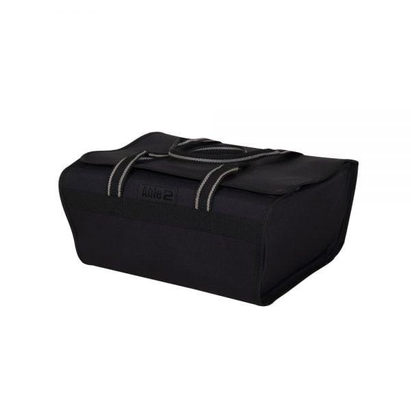 Praktische rollator tas voor in de mand van de rollator met 2 hengsels