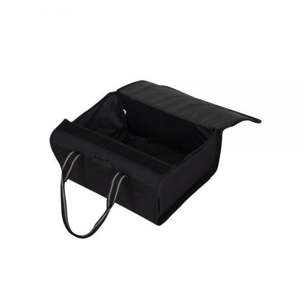 Praktische rollator tas voor in de mand van de rollator biedt veel ruimte